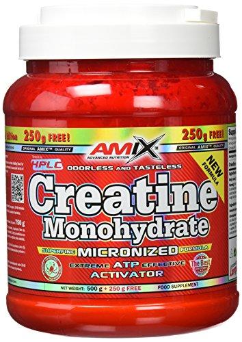 Amix Creatina 500 Gr +250 Gr Free 0.75 750 g