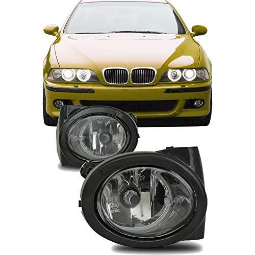 JOM Car Parts & Car Hifi GmbH 82769 Nebelscheinwerfer Klarglas mit Rahmen