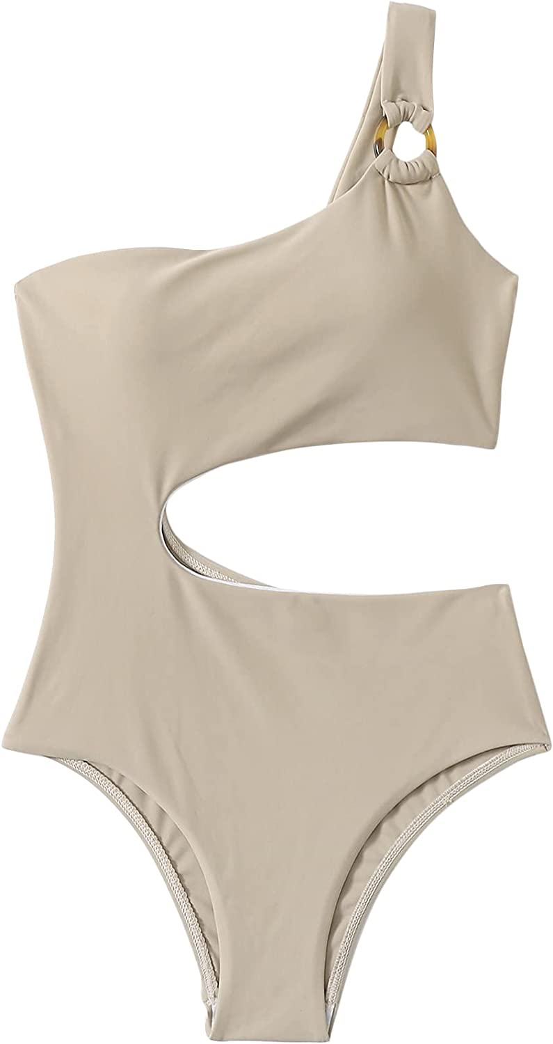 SOLY HUX New mail order Girl's Cut Out One Swimsuit Piece latest Bathing Monokini Suit