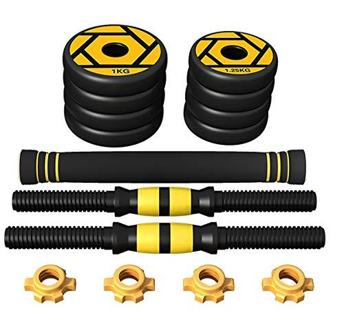 CLOTHES Hantel-Set, Gewicht: 10 kg.Single oder Paar, Gewichte mit Gummibeschichtung, rutschfesten und ergonomischem Griff, Cross-Training und funktionellem Training. (Size : 15kg)