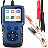 LNEX Car Battery Tester , 2.8'' LCD Color Screen, 100-2000CCA Fast Accurate 12V Battery Load Tester, Cranking and Charging System Digital Battery Analyzer for Car Truck Motorcycle ATV SUV Boat Yacht