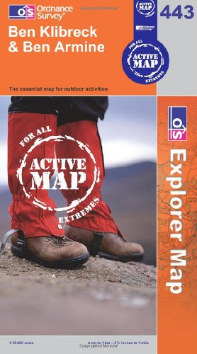 OS Explorer map 443 : Ben Klibreck & Ben Armine