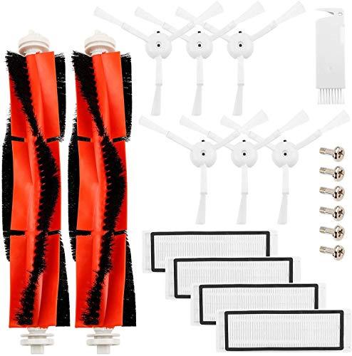 PIÈCES DE RECHANGE ACCUEIL - Kit d'accessoires pour robot aspirateur XIAOMI MI Roborock S50 / S51, kit 13pcs, brosse à rouleau, filtres, série.