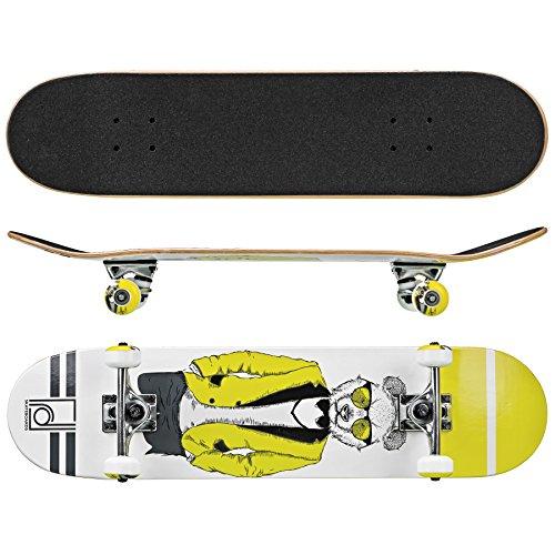 """Roller Derby Rd Deluxe Series Skateboard Mr. Bear, Multi, 31"""" x 8"""""""