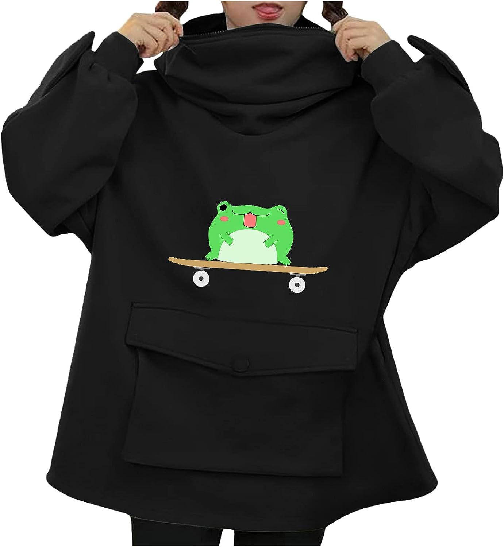 Cute Dinosaur Hoodies Sweatshirts Women's Teen Girls Casual Long Sleeve Pullover Tops Shirts