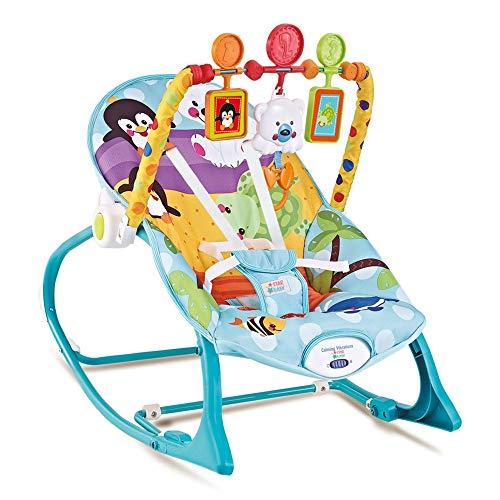 Cadeira de Descanço até 18 Kilos - Azul Pinguim - Star Baby