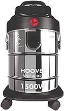 Hoover 1500W 18 Liters Capacity Wet & Dry Vacuum cleaner, HDW1-ME Silver