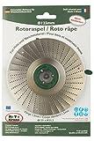 Radial abrasiva radial amoladora angular muela para madera, plástico, espuma de poliestireno, goma, arte y formas Ø 125 mm x 22.2 mm (cuchilla 1,5 mm,)