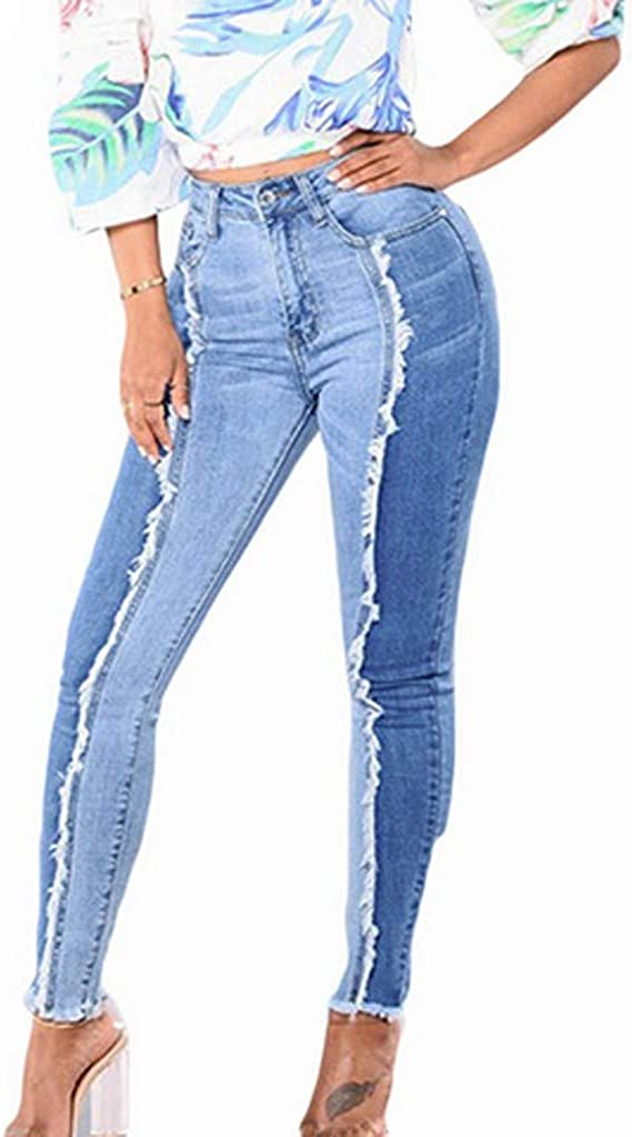 Qinnyo Jeans Product for Women Denim Pants Leggings Now on sale Fitness Si Slim Plus