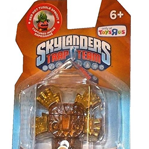 Skylanders Trap Team Limited Edition Earth Trap Red Hot Tussle Sprout by Activision