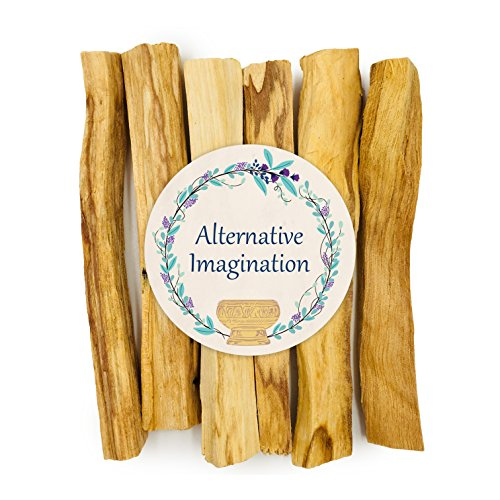 Palo Santo Sticks - Incense Smudge Sticks for Purifying, Cleansing, Meditation, Stress Relief, and More. 100% Natural and Sustainable. For an Abalone Shell, Incense Burner, in Home Gifts (Pack of 6)