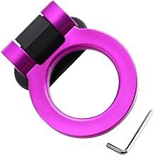 Nogan Auto Trekhaak Universele Meerdere Kleur Ring Vormige Decor 180 Graden Rotatie Bumper Trailer Sticker Versieren Groter