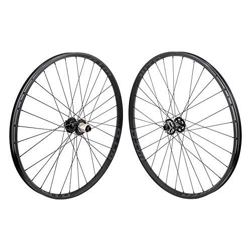 KOM WTB Tough i29 27.5' 650b Mountain Bike Wheelset 6 Bolt Tubeless Compatible TCS 2.0 32h 15mm Thru - 12mm Thru