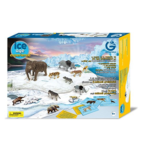 HQ Windspiration Geoworld CL170K - Ice Age Experience-Spielset, 8 eiszeitliche Tierfiguren, Alter: 6+