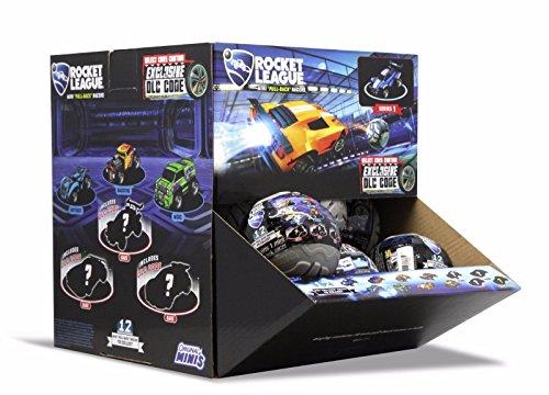 Rocket League Mini Pull-Back Racer Car Mystery Balls Factory Sealed Box of 20