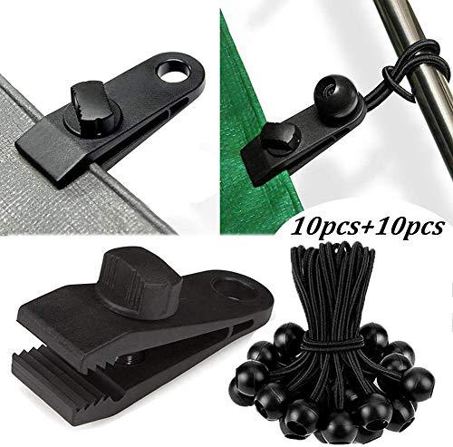 Wiederverwendbarer Hochleistungs-Linoleumclip, Reusable Heavy Duty Linoleum Clip Screw Clips Reusable Heavy Duty Tarpaulin Clips für draußen Camping Landwirtschaft Garten Tarps