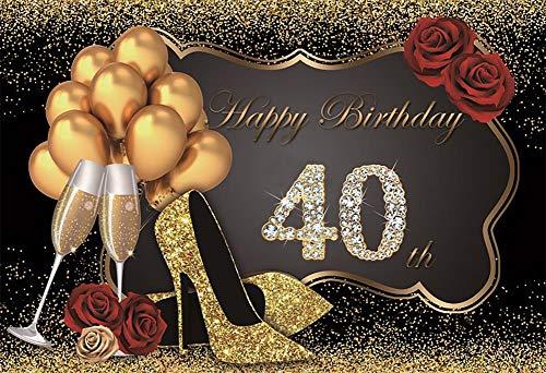 Foto Hintergrund Happy Fabulous Frauen Geburtstag 30 35 40 50 60. Party High Heels...
