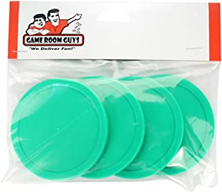 Game Room Guys Dynamo Air Hockey Pucks-Green- 3-1/4