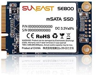 SUNEAST ( サンイースト ) 512GB 内蔵SSD SE800 mSATA SSD SATA 6Gb/s 3D TLC SE800-m512GB 日本国内3年保証