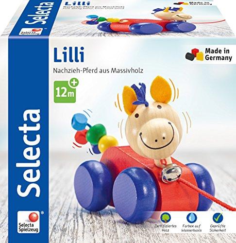Selecta - Nachziehspielzeug in Lilli, Größe 12 cm