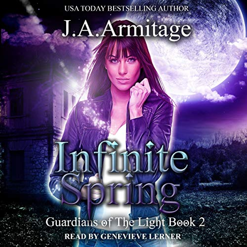 Infinite Spring      Guardians of the Light, Book 2              De :                                                                                                                                 J. A. Armitage                               Lu par :                                                                                                                                 Genevieve Lerner                      Durée : 8 h et 36 min     Pas de notations     Global 0,0