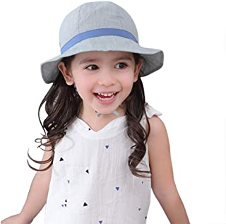 jerague Toddler Kids Baby Girl Breathable Sun Hat Cotton...