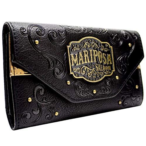 Westworld Mariposa Saloon Schwarz Portemonnaie Geldbörse