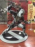 X-Men 22cm Deadpool 2 Figura De Acción Sentado Postura Modelo Anime Muñeca Decoración Colección Figurita Modo Juguetes Gris