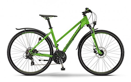 Trekkingrad Winora Vatoa Damen 28' 21-G limegreen/schwarz matt , Rahmenhöhen:46 cm