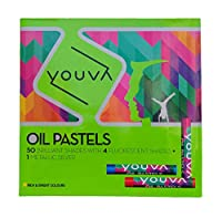 Navneet Youva Oil Pastels (Pack of 50)