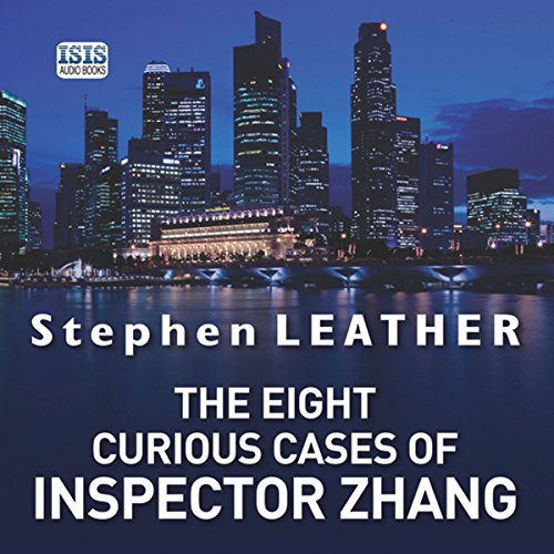 The Eight Curious Cases of Inspector Zhang audiobook cover art
