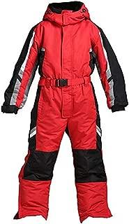 Genma0 One-Piece Snowsuit Waterproof Windproof Taslon Reflective for Adults/Men/Women