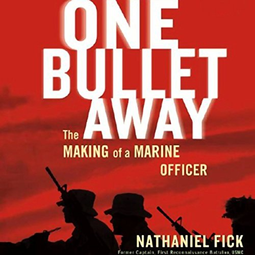 One Bullet Away audiobook cover art