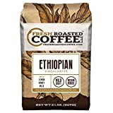 Fresh Roasted Coffee LLC, Ethiopian Yirgacheffe Coffee, Medium Roast, Whole Bean, 2 Pound Bag