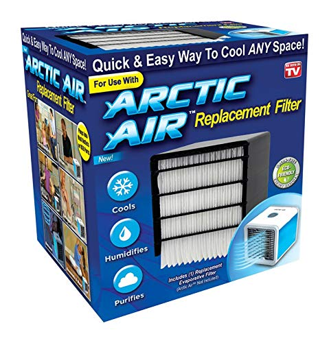 Arctic Air 6795504 As Seen on TV 4.31 x 5.13 x 4.31 Pulgadas. D Filtro de Aire Acondicionado