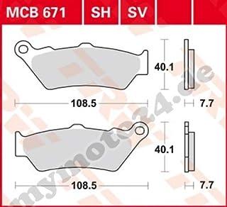 Suchergebnis Auf Für Motorrad Bremsbeläge Mymoto24 Bremsbeläge Bremsen Auto Motorrad