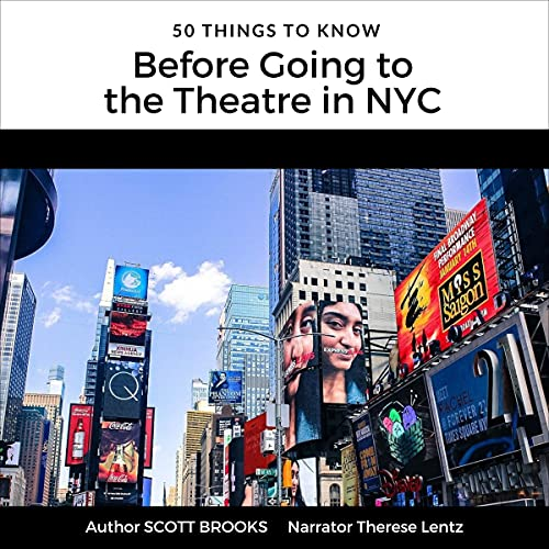 『50 Things to Know Before Going to the Theatre in NYC』のカバーアート