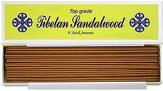 8 Top Grade Tibetan Sandalwood Stick Incense - 100% Natural - J007Tr-r1 [並行輸入品]