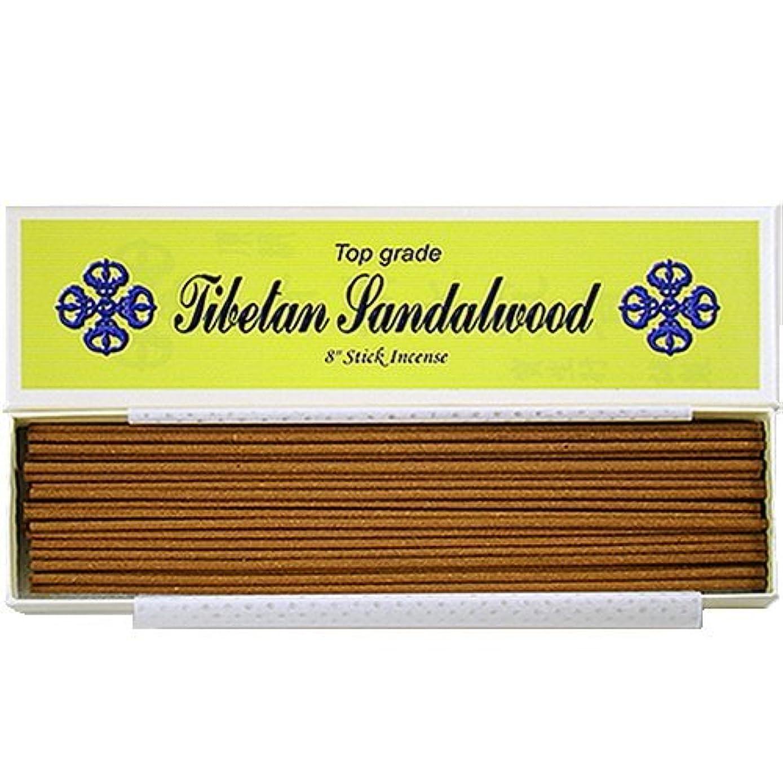 中絶縮れたメトロポリタン8 Top Grade Tibetan Sandalwood Stick Incense - 100% Natural - J007Tr-r1 [並行輸入品]
