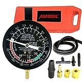 AUTOOL Carburettor Valve Auto Pump Pressure Vacuum Tester Gauge Test Tool Kit Diagnostic