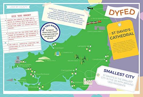 Dyfed I Love My County   Puzzle de 400 piezas
