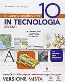 Imparo e applico con 10 in tecnologia. Disegno-48 tavole. Per la Scuola media. Con e-book....