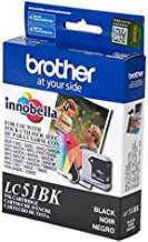 Genuine Brother LC-51 Black 2 Pack for Brother DCP-130C Fax-2480C IntelliFax-1360 IntelliFax-1860C MFC-240C MFC-465CN MFC-...