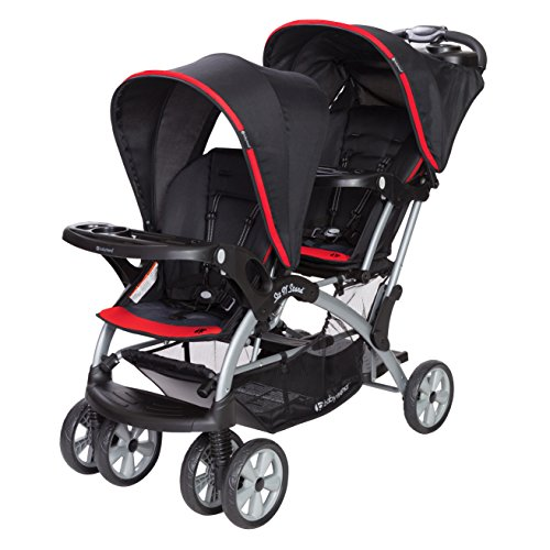 Why Should You Buy Baby Trend Sit n Stand Double Stroller, Optic Red