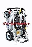 Newgardenstore Grin PM46 Pro Tondeuse professionnelle, largeur de coupe de 46cm, avec moteur...