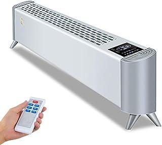 Convector Calefactor Baja Energía con Termostato/Temporizador - Calentador Eléctrico para Hogar - Control Remoto - 5 Modos - Silencioso - Control Inteligente WIFI - Calentamiento Rápido,2000W White