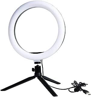 WMC Photography Live Fill Light, Soft Light Color Desktop Ring Light 6Inch Led Mobile Phone Fill Light Anchor Photography Live Supplementary Lamp