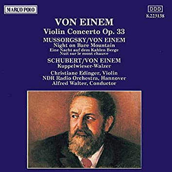 Einem: Violin Concerto, Op. 33