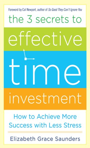 The 3 secrets to effective time investment ebook toumai investments 101