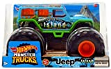 DieCast Hotwheels MonsterTrucks Je-ep Island Tours escala 1:24